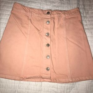 Forever 21 Botton Down Skirt